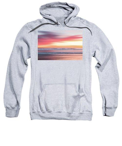 Sunset Blur - Pink Sweatshirt