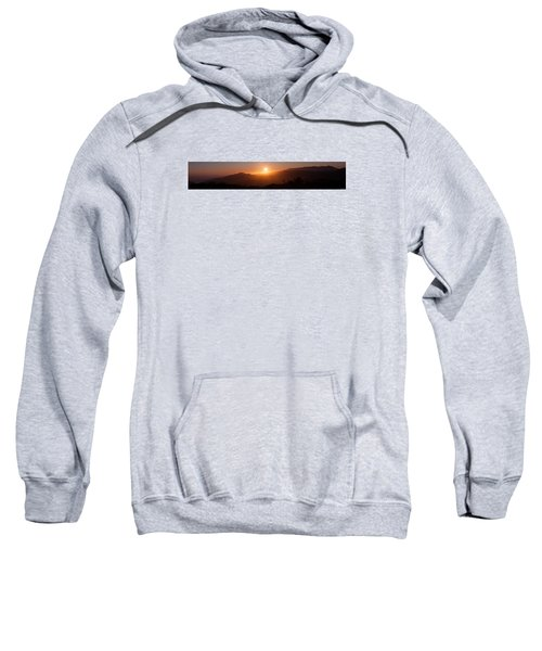 Sunset From Marine Headlands San Francisco Sweatshirt
