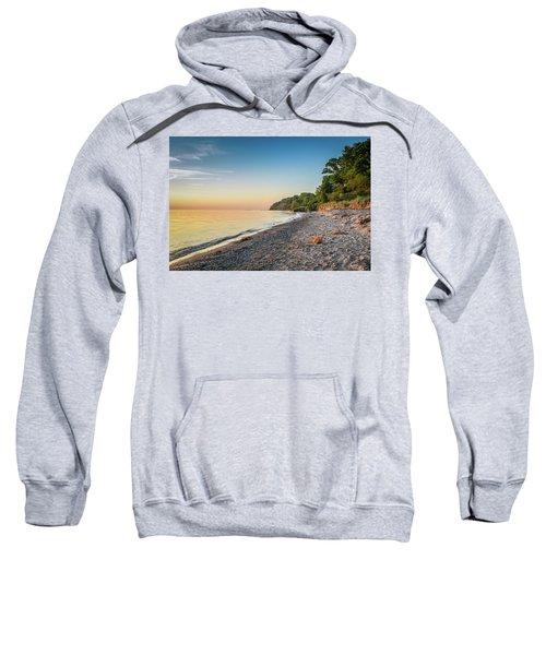 Sunset Glow Over Lake Sweatshirt