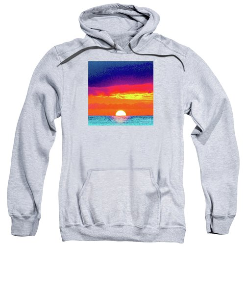 Sunset In Abstract 500 Sweatshirt