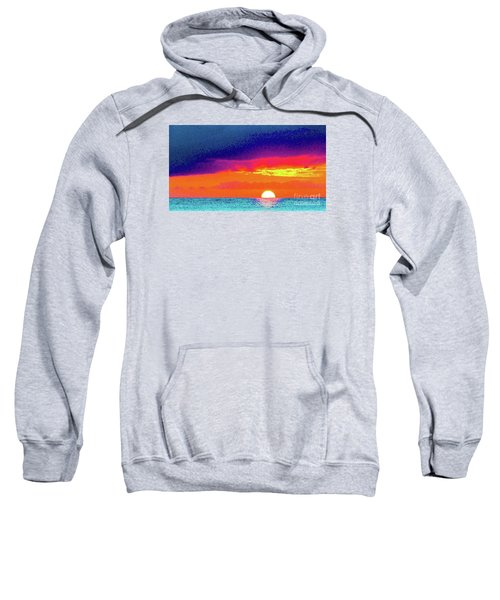Sunset In Abstract  Sweatshirt