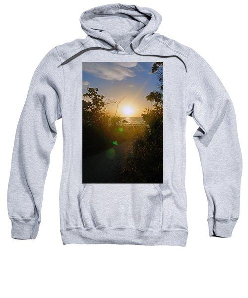 Sunset In Naples At Barefoot Beach Sweatshirt