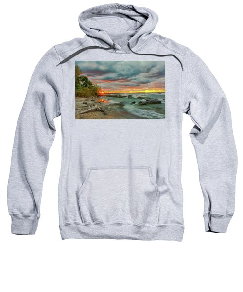 Sunset In Rocky River, Ohio Sweatshirt