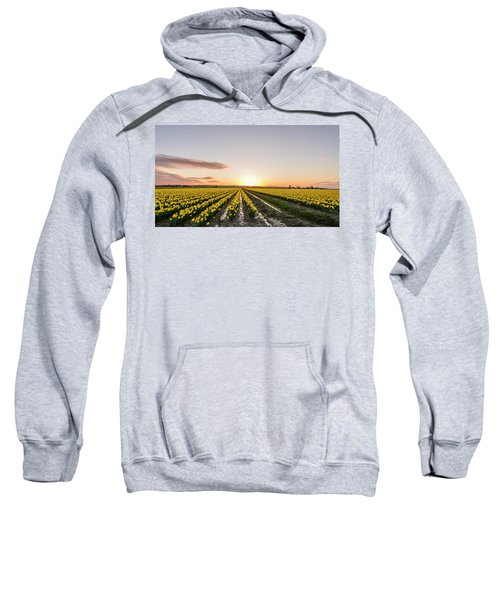 Sunset In Skagit Valley Sweatshirt