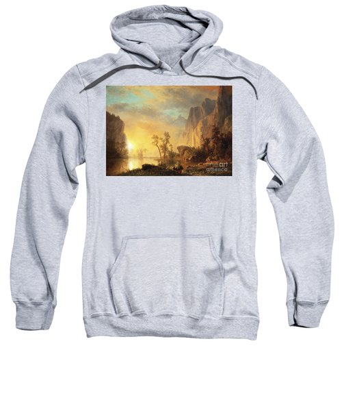 Sunset In The Rockies Sweatshirt
