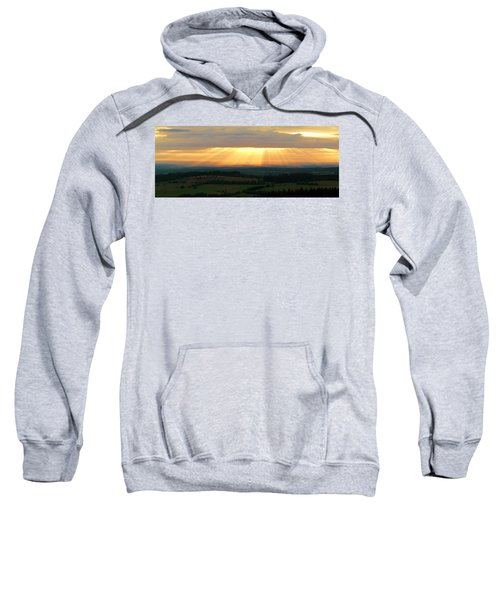 Sunset In Vogelsberg Sweatshirt