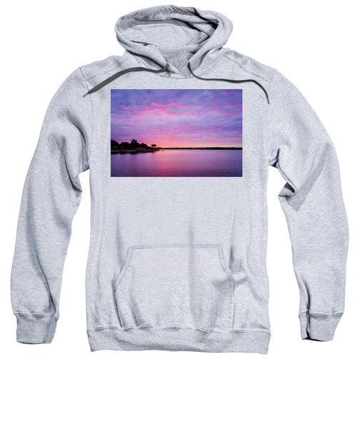 Sunset Lake Arlington Texas Sweatshirt