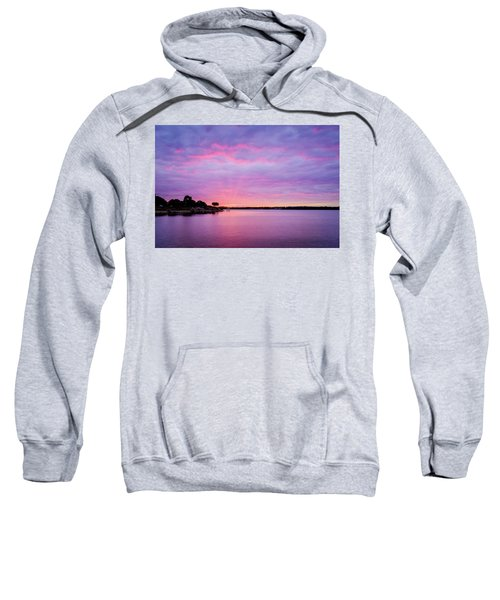 Sunset Lake Arlington Texas Sweatshirt