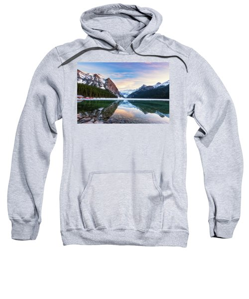 Sunset Lake Louise Sweatshirt
