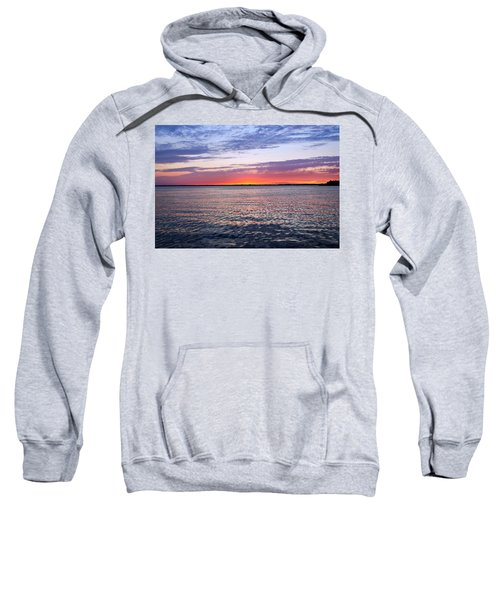 Sunset On Barnegat Bay I - Jersey Shore Sweatshirt