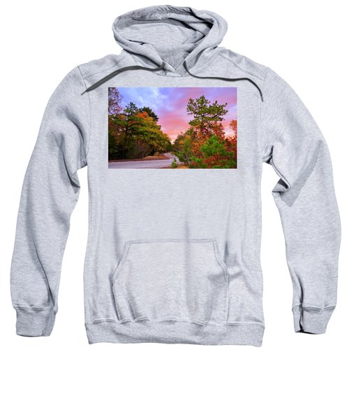 Sunset On Bombing Run Road Sweatshirt