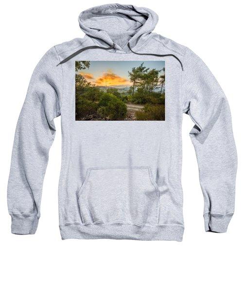 Sunset On Carmel Mountain 2 Sweatshirt