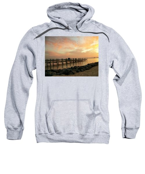 Sunset On Dewey Bay Sweatshirt
