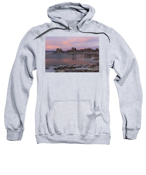 Sunset On Mono Lake Sweatshirt