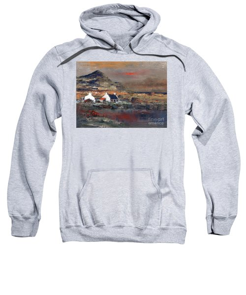Sunset On Mount Errigal, Dunegal Sweatshirt