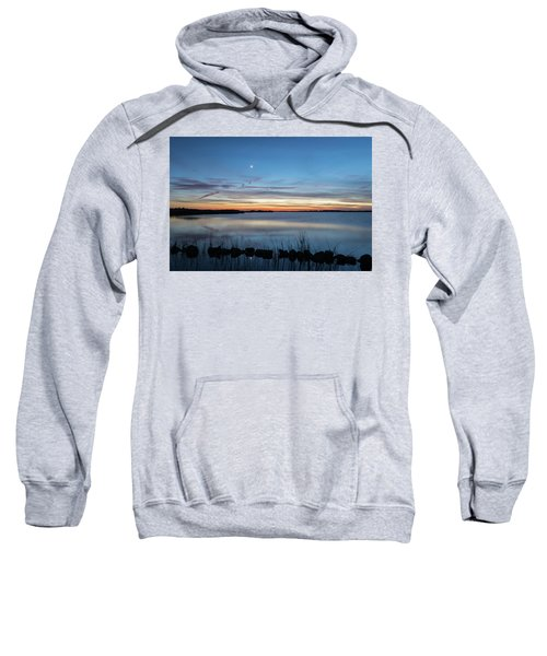 Sunset Over Back Bay Sweatshirt