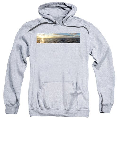 Sunset Over Cape Fear River Sweatshirt