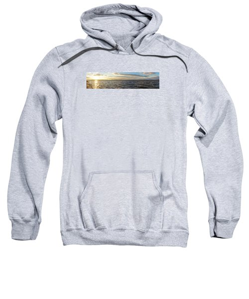Sunset Over Cape Fear River Sweatshirt