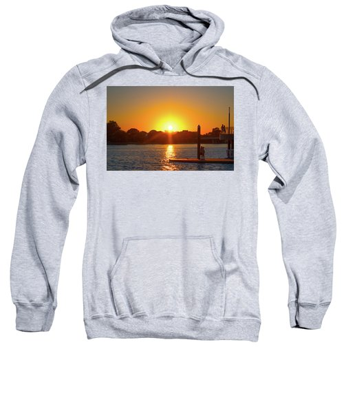 Sunset Over Hains Point Sweatshirt