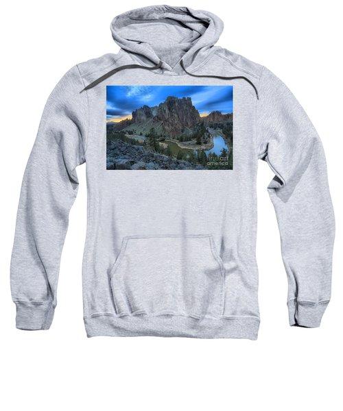 Sunset Over Smith Rock Sweatshirt