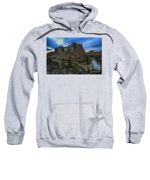 Sunset Over The Crooked River Sweatshirt