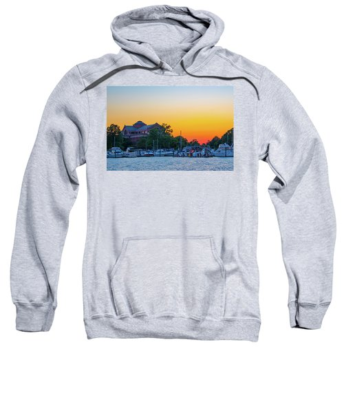 Sunset Over The National War College  Sweatshirt