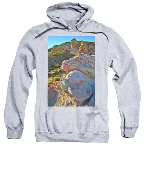 Sunset Pastels In Valley Of Fire Sweatshirt