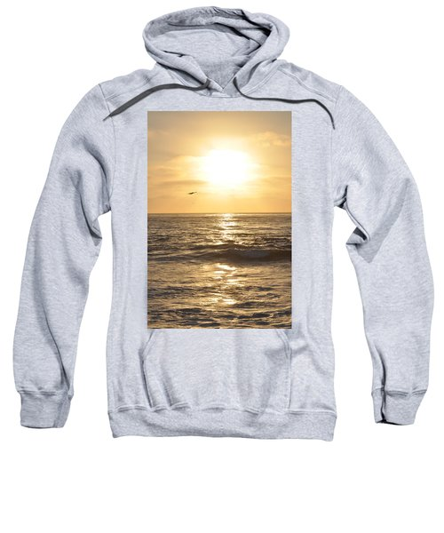 Sunset Pelican Silhouette Sweatshirt
