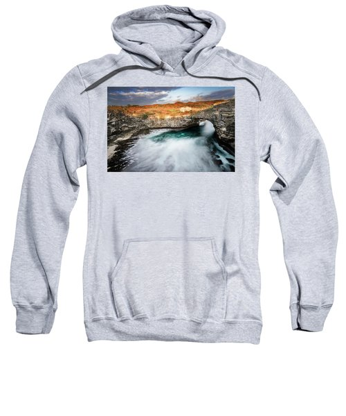 Sunset Point In Broken Beach Sweatshirt
