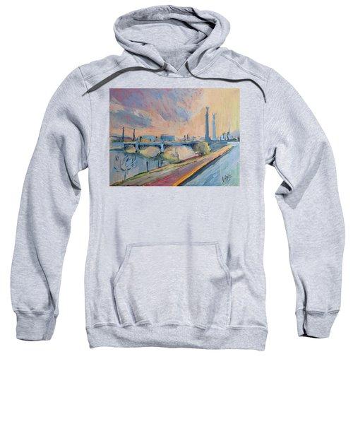 Sunset Pont Fragnee Sweatshirt