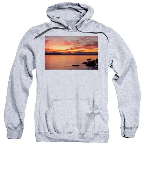 Sunset Puget Sound Sweatshirt