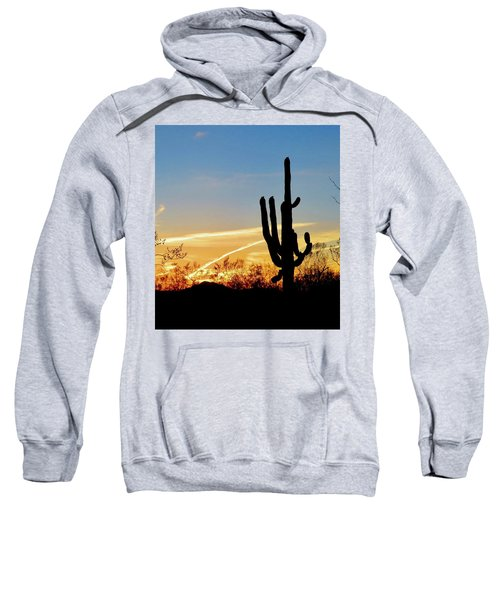 Sunset Saguaro In The Spring Sweatshirt