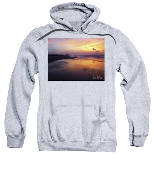 Sunset Walk On Myrtle Beach Sweatshirt
