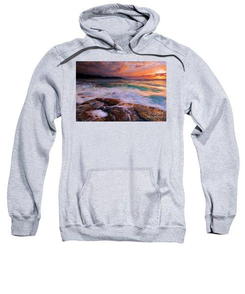 Sunset Wave Curl Sweatshirt