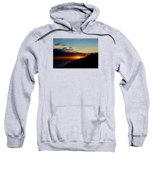 Sweatshirt featuring the photograph Sunset,beauty-05 by Joseph Amaral