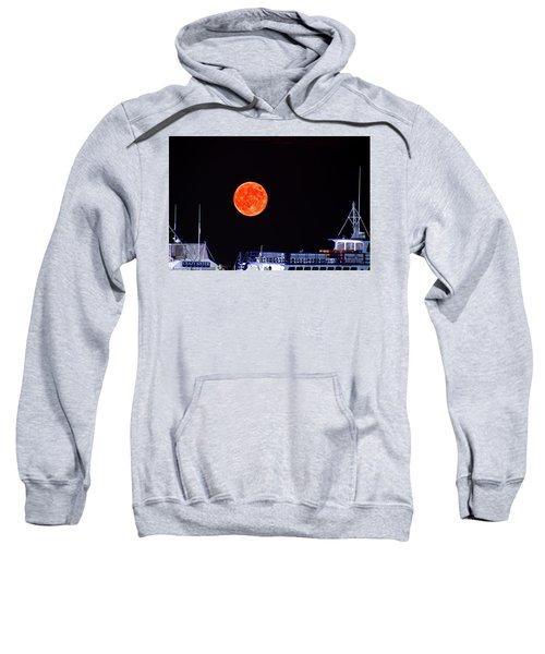 Super Moon Over Crazy Sister Marina Sweatshirt