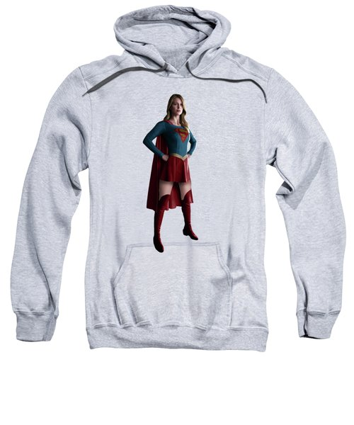 Supergirl Splash Super Hero Series Sweatshirt