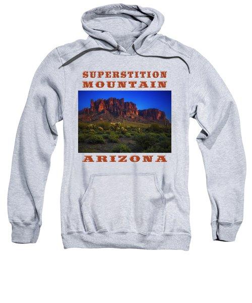 Superstition Mountain Sunset Sweatshirt