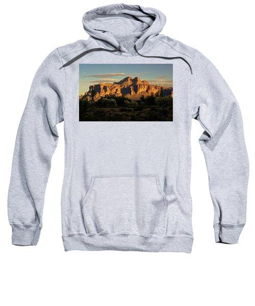 Superstitions At Sunset  Sweatshirt