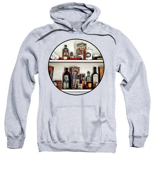 Supplies In Doctor's Office Sweatshirt