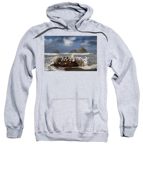 Surf And Three Arch Rocks Sweatshirt