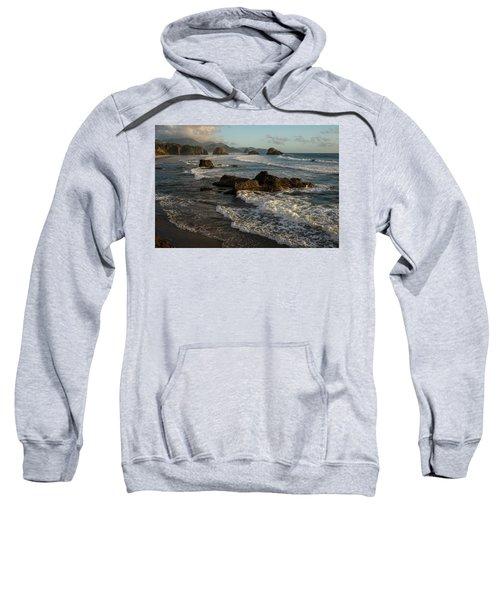 Surf At Crescent Beach Sweatshirt