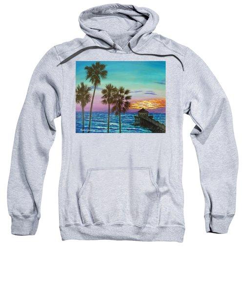 Surf City Sunset Sweatshirt