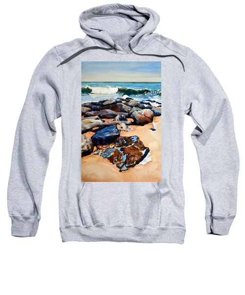 Surf On The Jetty Sweatshirt
