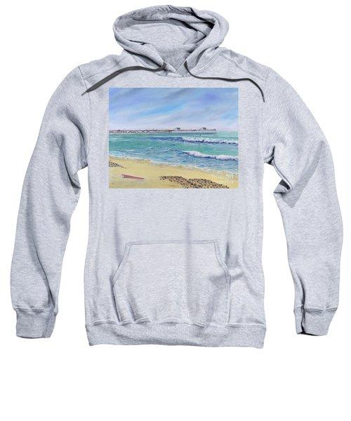 Surfing In San Clemente Sweatshirt