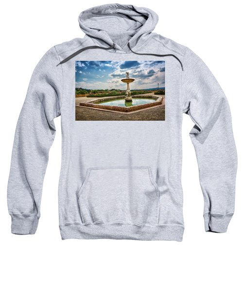 The Monkeys Fountain At The Gardens Of The Knight In Florence, Italy Sweatshirt