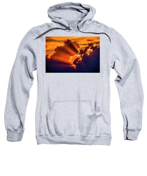 Sweet Nebraska Crepuscular Rays 010 Sweatshirt