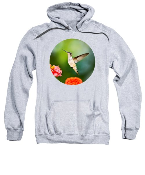 Sweet Promise Hummingbird Sweatshirt by Christina Rollo