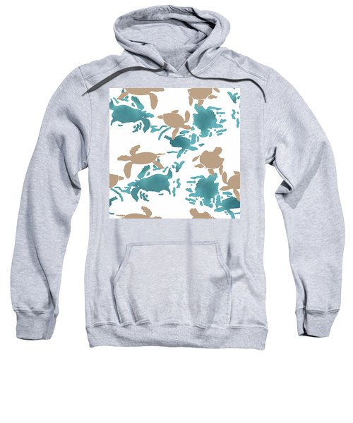 Swimming Turtles Sweatshirt