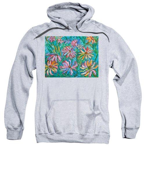 Swirling Color Sweatshirt